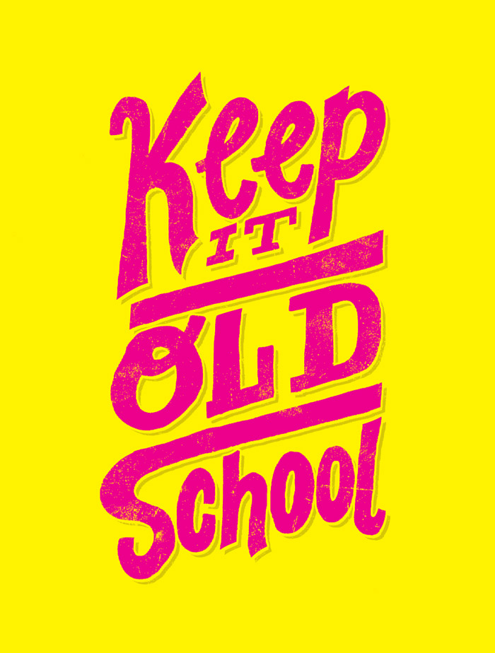 8/1: Old School by Jay Roeder, freelance illustration, hand ...