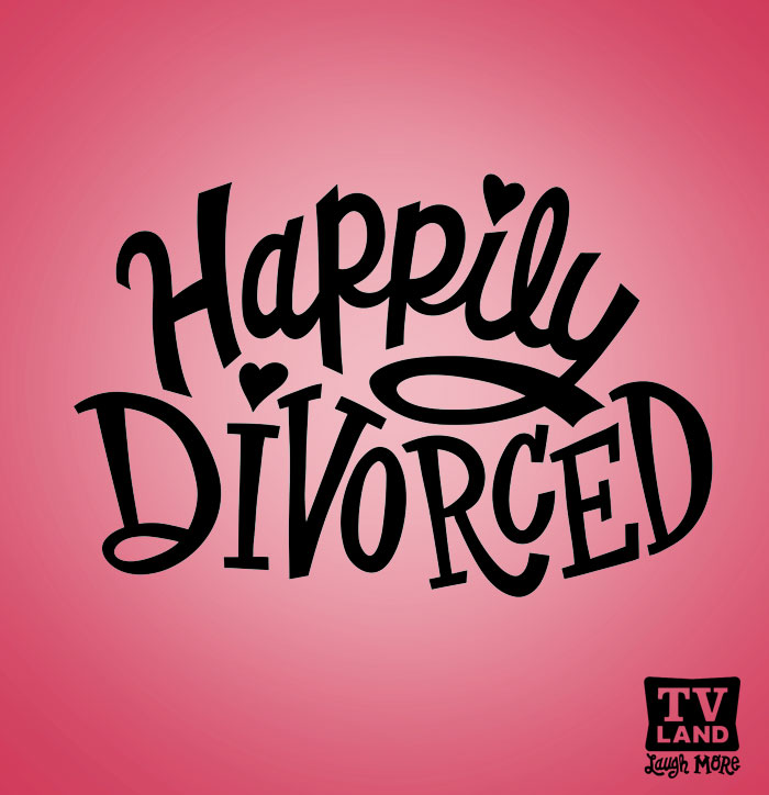 tv land happily divorced by jay roeder freelance illustration hand